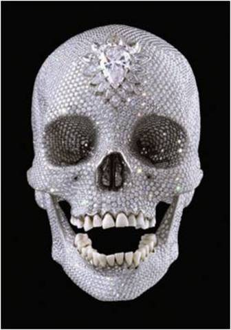 Damien Hirst. For the Love of God, 2007