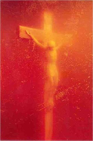 Andres Serrano. Piss Christ, 1989