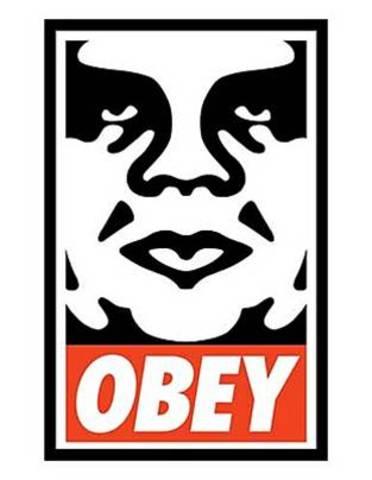 Shepard Fairey. Obey, 1989