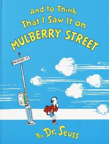 Ted becomes Dr. Seuss when his first book is published.