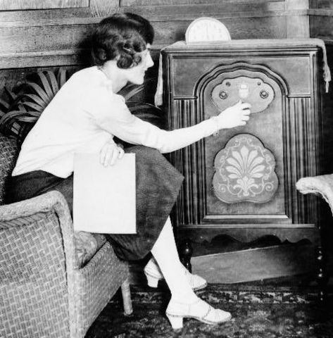 First Radio with a Human Voice