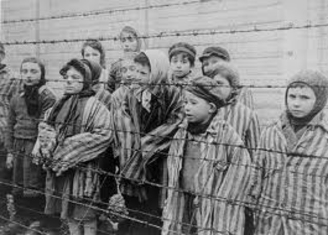 Nazi begin rounding up Jewes for Labor camps
