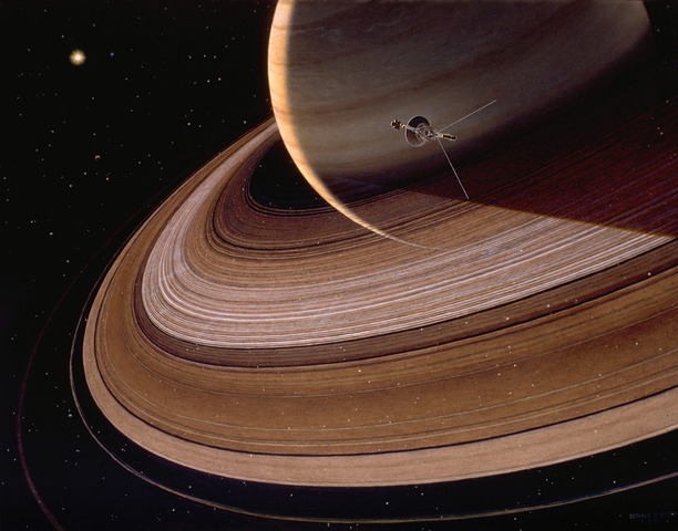 Saturn - Voyager 1 and 2