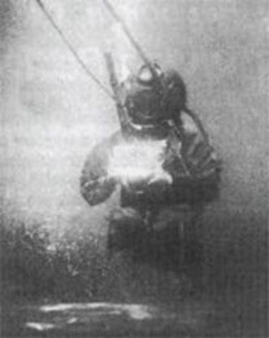 Underwater Photography begins