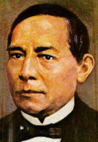 Nace Benito Juarez