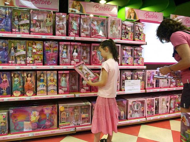 Millions of Barbies!