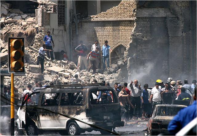 Truck Bombing in Baghdad, Iraq