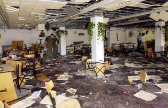 Bombing at the Hebrew University