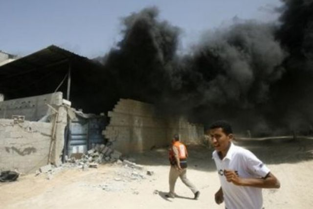 Bomb Attack on U.S. Diplomats in the Gaza Strip