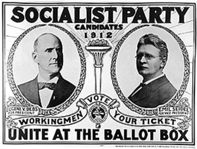 Socialist Party of America Founded