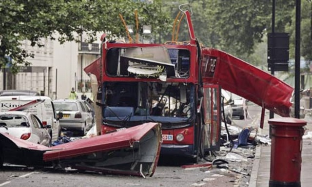Bombing of Transportation Targets in London