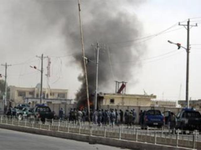 Attack on Afghani Police HQ