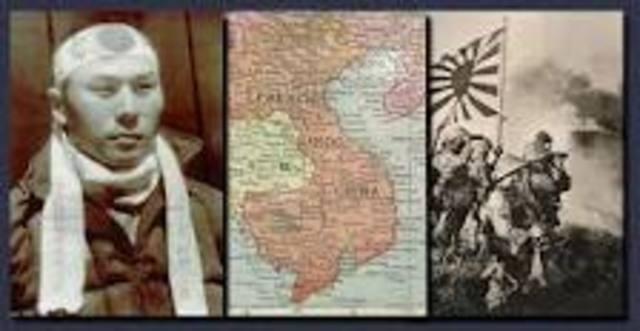 Japense invade French Indochina