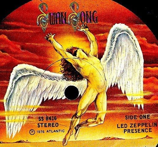 Led Zeppelin Created Swan Song records