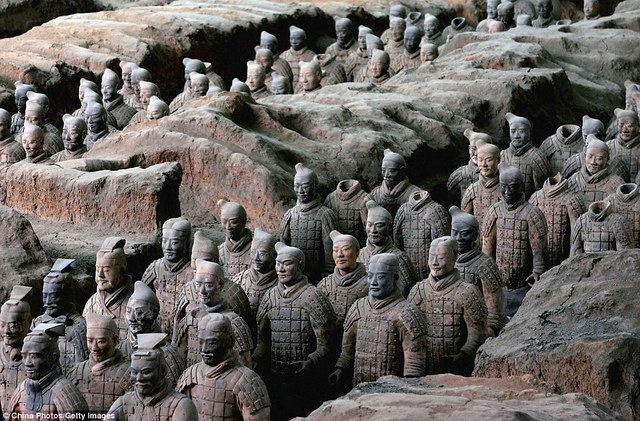 Chinese Clay Army Discovered