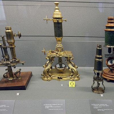 microscopes timeline
