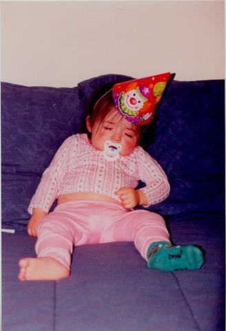 Birth of Rachel Jarman (Sister)