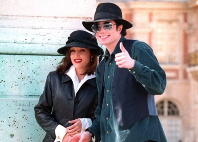 The king of pop married
