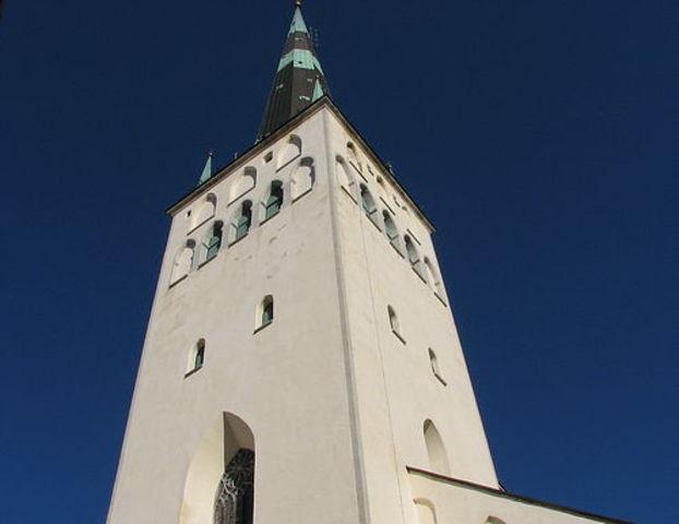 Нынешняя высота церкви - 123,7 м