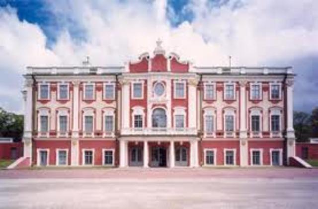 Переезд художественного музея в дворец Кадриорг.