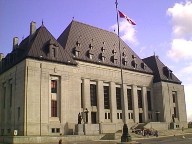 Canada's first female Supreme Court justice