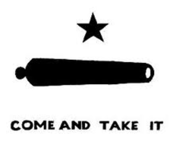 Texas History by Dayne Ramirez              Battle of Gonzales                  Consulation of 1835                  Attack on San Antonio                   Battle of the Alamo                  Constitutional Convention of 1836                  Battle of Coleto                  Goliad Massacre                   Runaway Scrape                  Battle of San Jacinto