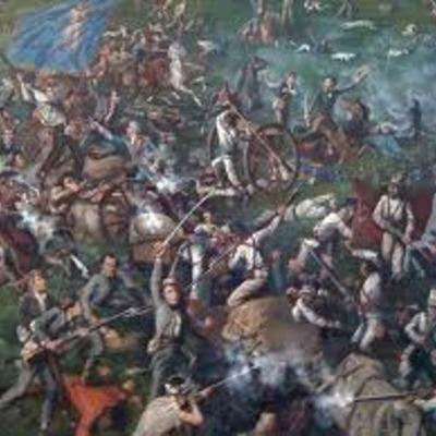 Texas Revolution by Hunter Martinez timeline