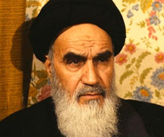 Ayatollah Khomeini comes to power in Iran