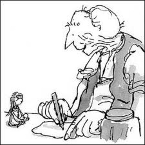 Danny's father tells about the BFG
