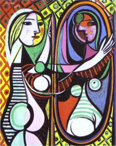 Girl Before a Mirror by Picasso