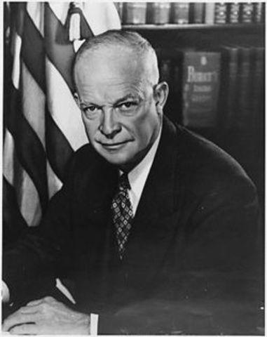 Dwight Eisenhower became President
