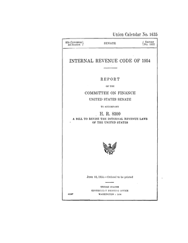 The Internal Revenue Code