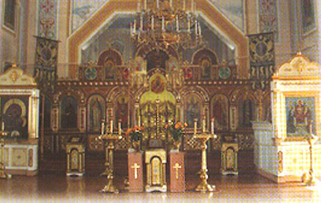Освящение и установка колоколов