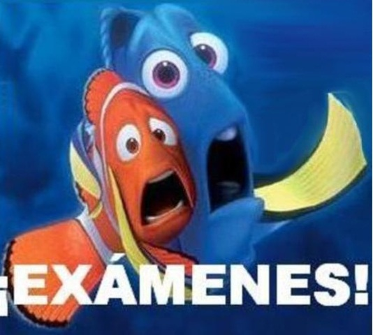 examenes de diciembre