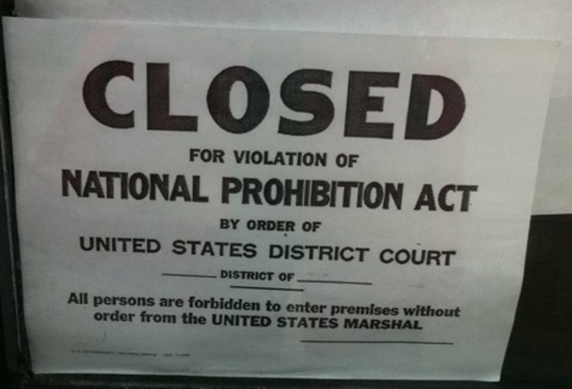 National Prohibition Act