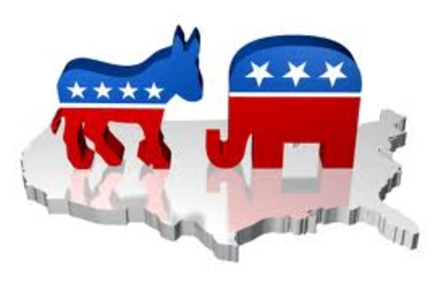 Arise of Republican party vs. Democratic party