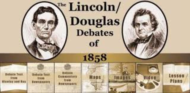 Abraham Lincoln vs. Stephan Douglas