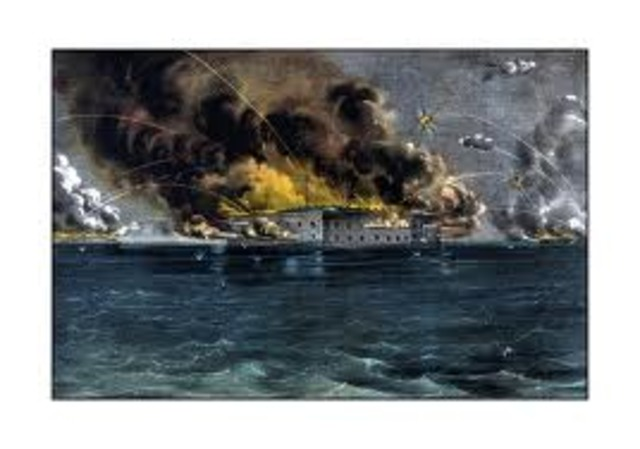 Supply and Attack of Fort Sumter