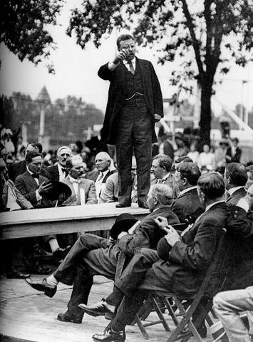 Roosevelt delivers 20,000 word speech to Congress