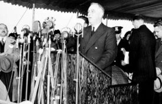 Franklin Roosevelt's Quarantine speech