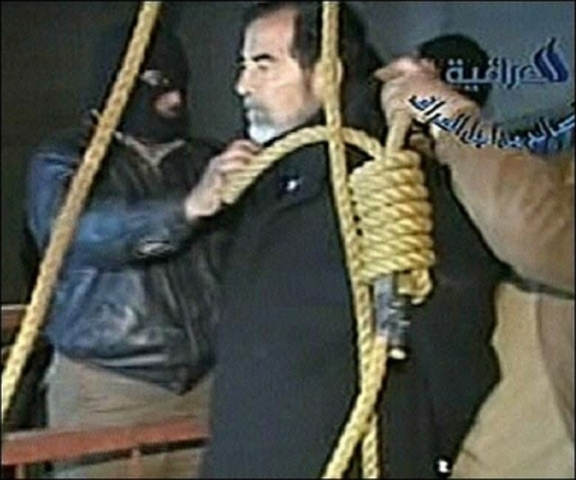 Hussein Executed