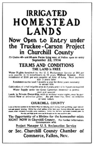Newlands Reclamation Act