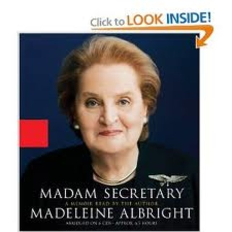 First female Secretary of State