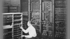 Electronic Computing Milestones timeline