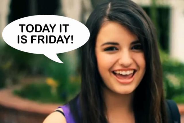 """Rebecca Black Debuts """"Friday Song"""""""