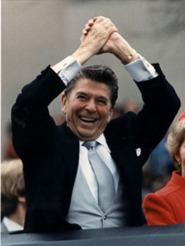 Major Event Inauguration of President Ronald Reagan and Vice President George Bush