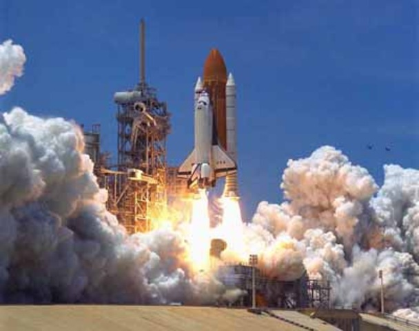 Major Event – First space shuttle launched