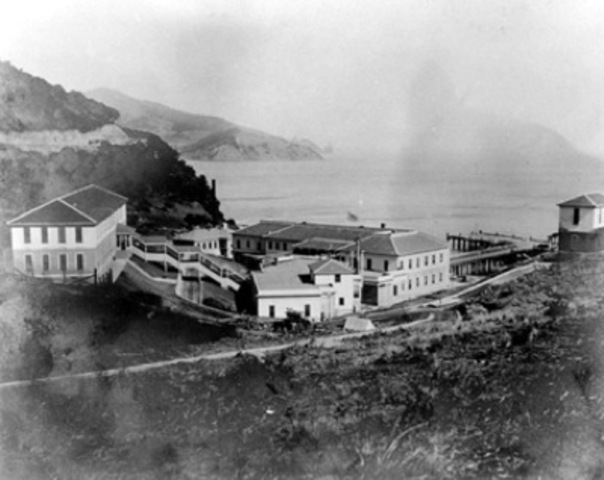 Angel Island Immigration Center Fire