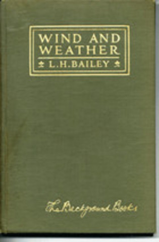 """Wind and Weather"" published by Bailey"