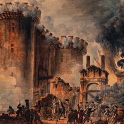 Fransk revolution timeline